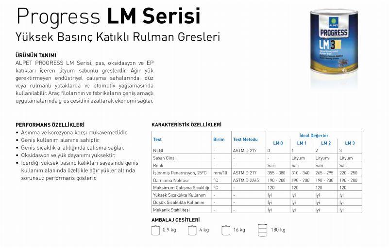 PROGRESS LM SERİSİ