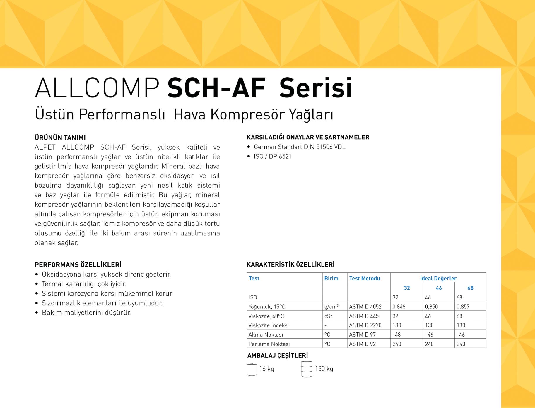 ALLCOMP SCH-AF Serisi